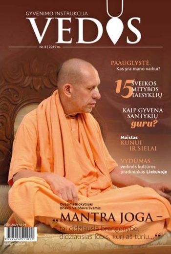 Žurnalas Vedos nr. 8